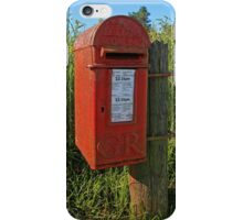 Country Post Box iPhone Case/Skin