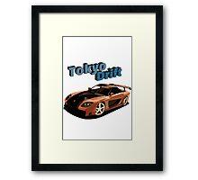 Fast and Furious - Tokyo Drift Framed Print