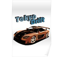 Fast and Furious - Tokyo Drift Poster