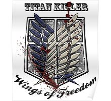 Titan Killer Wings of Freedom Poster