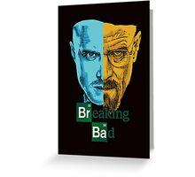 Breaking Bad -Jesse&Walter Greeting Card