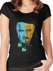 Breaking Bad -Jesse&Walter Women's Fitted Scoop T-Shirt