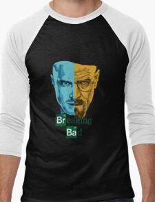 Breaking Bad -Jesse&Walter Men's Baseball ¾ T-Shirt