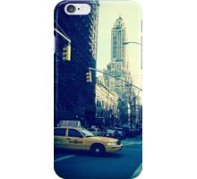 """I'm Walking Here."" iPhone Case/Skin"