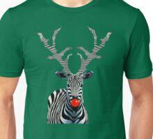 Rudolph - Zebra Style! Unisex T-Shirt