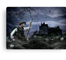 Clansman Canvas Print
