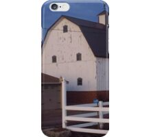 A Country Christmas in Iowa iPhone Case/Skin