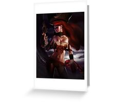 League of Legend - Miss Fortune [UltraHD] Greeting Card