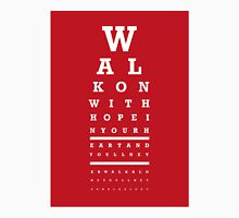 Eye Chart - Liverpool FC - You'll Never Walk Alone Unisex T-Shirt