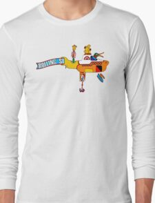 Yellow Submarine (sea of monsters) Long Sleeve T-Shirt