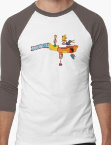 Yellow Submarine (sea of monsters) Men's Baseball ¾ T-Shirt