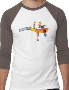 Yellow Submarine (sea of monsters) Men's Baseball ¾ T-Shirt