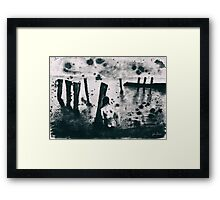 Black Sea Framed Print