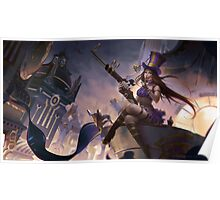 League of Legend - Caitlyn [UltraHD] Poster