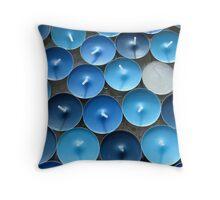 Love those blues Throw Pillow