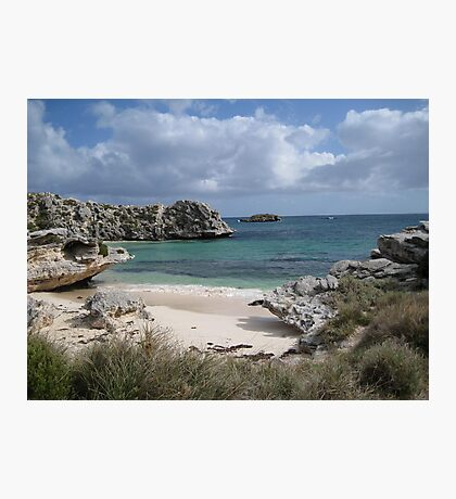 Pinkys Bay Rottnest Island 7 Photographic Print
