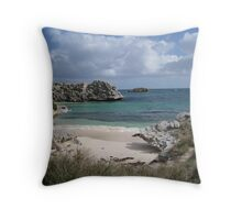 Pinkys Bay Rottnest Island 7 Throw Pillow