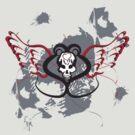 Winged Heart Skull by MOC2