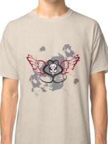 Winged Heart Skull Classic T-Shirt