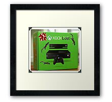 X Box Lost Framed Print