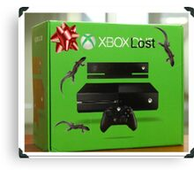 X Box Lost Canvas Print