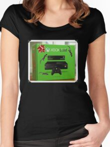 X Box Lost Women's Fitted Scoop T-Shirt