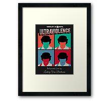 Ultraviolence Pop Framed Print