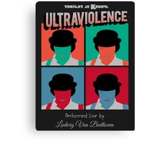 Ultraviolence Pop Canvas Print