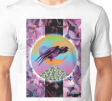 Crystal Crow Unisex T-Shirt