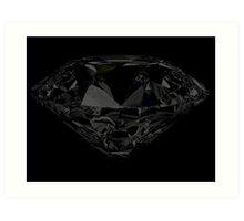 Black Diamond iPhone / Samsung Galaxy Case Art Print