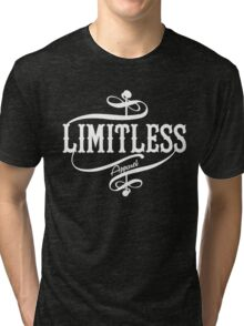 Limitless Apparel - A White Tri-blend T-Shirt