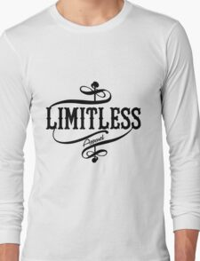 Limitless Apparel - A Black Long Sleeve T-Shirt