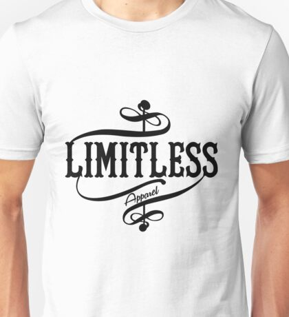 Limitless Apparel - A Black Unisex T-Shirt