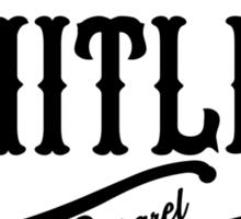 Limitless Apparel - A Black Sticker