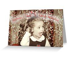 Birthday Greeting Greeting Card