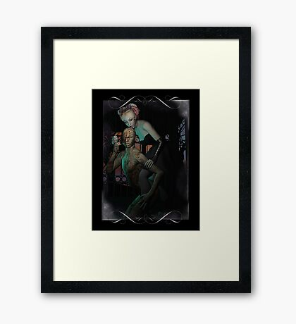 How Many Licks... Framed Print