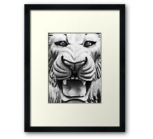 In Like a Lion Framed Print