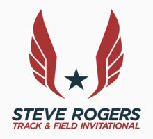 Captain America - Steve Rogers Track & Field Invitational by garywithrow