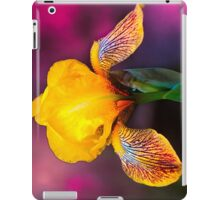 Yellow Iris iPad Case/Skin