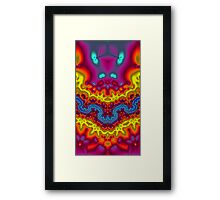 Alien Bunnies and Friends at the Ball Framed Print