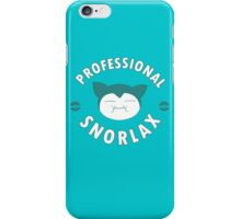 Professional Snorlax iPhone Case/Skin