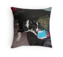 Man of the House Throw Pillow