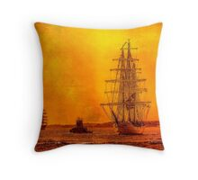 Morning of Glory  Throw Pillow