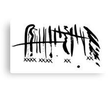 XXY Canvas Print