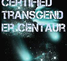 Certified transgender centaur  by braincakedesign