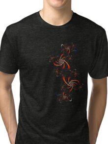Fractal Doodle Tri-blend T-Shirt