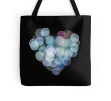 Valentines Abstract heart shaped lights  Tote Bag
