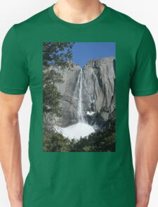 Yosemite upper falls, Yosemite national Park, California USA T-Shirt