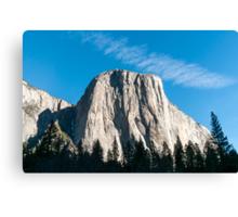 El Capitan mountain Yosemite national Park, California USA Canvas Print