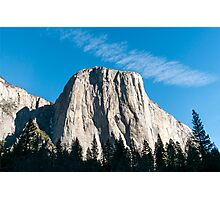 El Capitan mountain Yosemite national Park, California USA Photographic Print